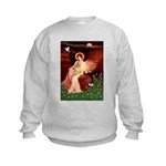 Angel / Lhasa Apso #9 Kids Sweatshirt