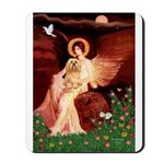 Angel / Lhasa Apso #9 Mousepad