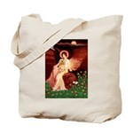 Angel / Lhasa Apso #9 Tote Bag