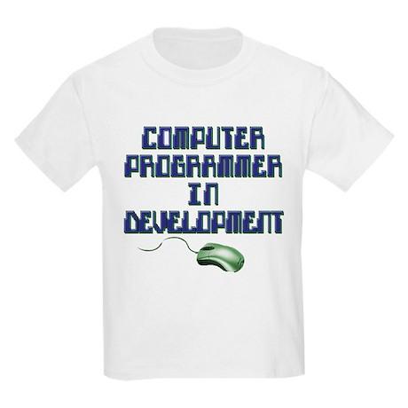 future computer programmer Kids Light T-Shirt