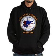 USS West Virginia SSBN 736 Hoodie