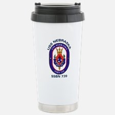 USS Nebraska SSBN 739 Travel Mug