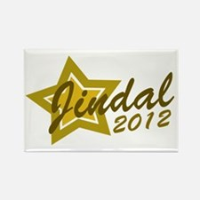 Jindal 2012 Rectangle Magnet