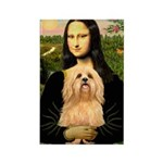 Mona / Lhasa Apso #9 Rectangle Magnet (100 pack)