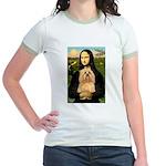 Mona / Lhasa Apso #9 Jr. Ringer T-Shirt