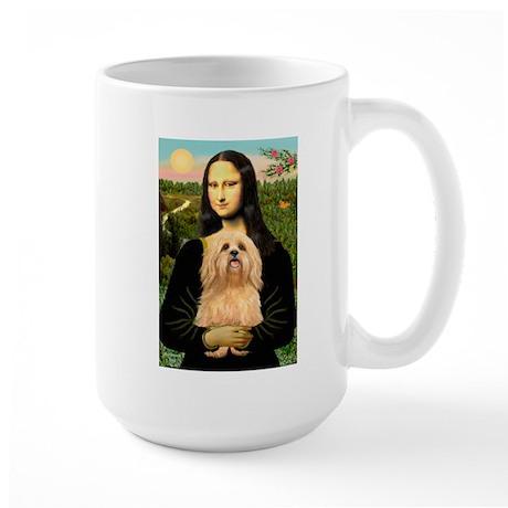 Mona / Lhasa Apso #9 Large Mug