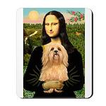 Mona / Lhasa Apso #9 Mousepad