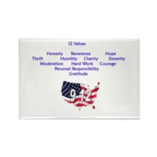 12 Values Rectangle Magnet