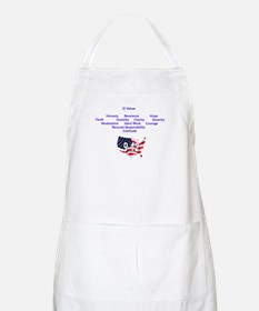 12 Values (9 Principles on re BBQ Apron