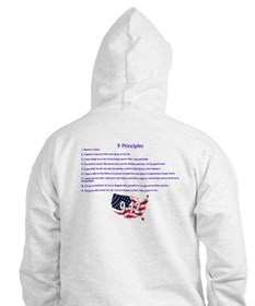 12 Values (9 Principles on re Hoodie