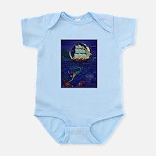 Pirate Mermaid Infant Creeper