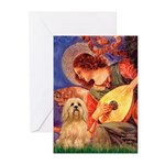 Mandolin / Lhasa Apso #9 Greeting Cards (Pk of 20)