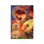 Mandolin / Lhasa Apso #9 Rectangle Magnet (100 pac