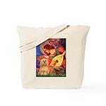 Mandolin / Lhasa Apso #9 Tote Bag