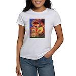 Mandolin / Lhasa Apso #9 Women's T-Shirt