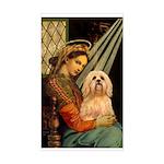 Madonna / Lhasa Apso #9 Sticker (Rectangle)