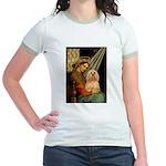 Madonna / Lhasa Apso #9 Jr. Ringer T-Shirt