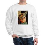 Madonna / Lhasa Apso #9 Sweatshirt
