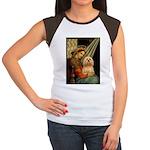 Madonna / Lhasa Apso #9 Women's Cap Sleeve T-Shirt