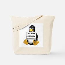 I Don't Do Windows! Tote Bag