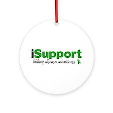 iSupport Kidney Disease Ornament (Round)