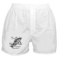 To Fish or Not to Fish Boxer Shorts