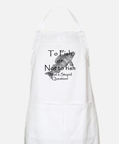 To Fish or Not to Fish BBQ Apron