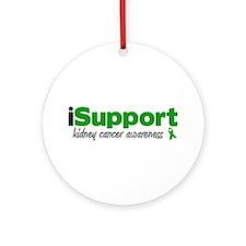iSupport Kidney Cancer Ornament (Round)