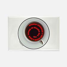 COFFEE/JAVA Rectangle Magnet