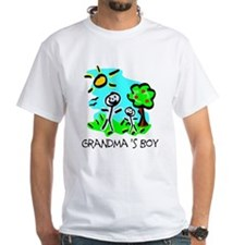 Grandma's Boy (Stick Figure) Shirt