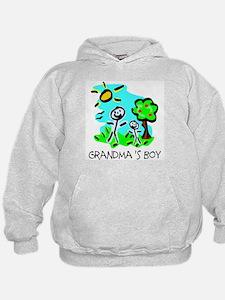 Grandma's Boy (Stick Figure) Hoodie