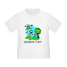 Grandma's Boy (Stick Figure) T