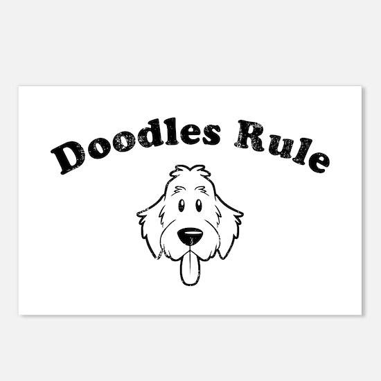 Doodles Rule Postcards (Package of 8)