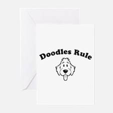 Doodles Rule Greeting Cards (Pk of 10)