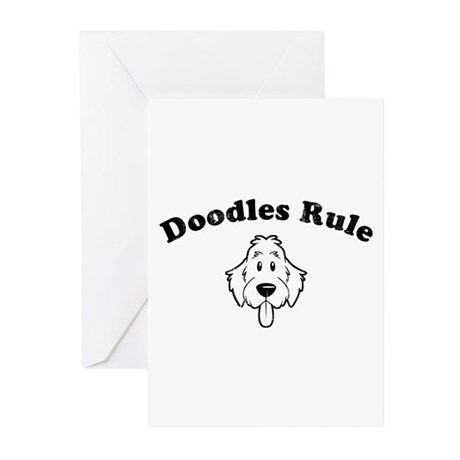 Doodles Rule Greeting Cards (Pk of 20)