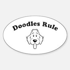 Doodles Rule Decal