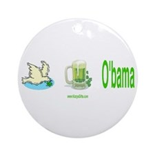 IRISH O'BAMA Ornament (Round)