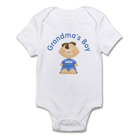 Grandma's Boy (Brunette) Infant Bodysuit