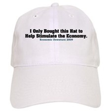 Recession Humor Baseball Cap