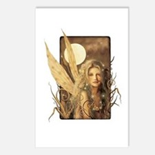 Sepia Fairy Postcards (Package of 8)