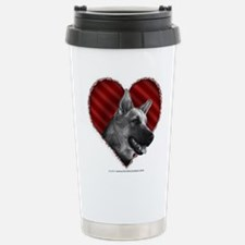 German Shepherd Heart Travel Mug