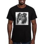 Shetland Sheepdog (Sheltie) Men's Fitted T-Shirt (
