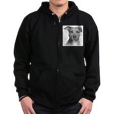American Pit Bull Terrier Zipped Hoodie