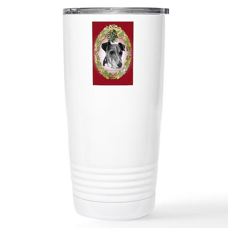 Smooth Fox Terrier Stainless Steel Travel Mug