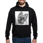 Yorkshire Terrier Hoodie (dark)