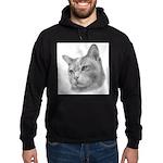 Burmese Cat Hoodie (dark)