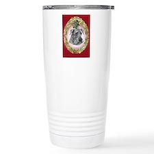 Airedale Terrier Christmas Travel Mug