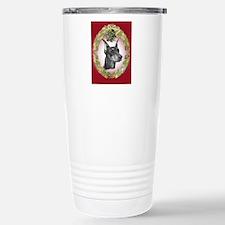 Doberman Pinscher Christmas Travel Mug