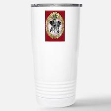 Fox Terrier Christmas Travel Mug