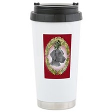 Weimeraner Christmas Travel Mug